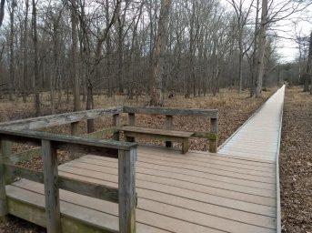 Walkway near Stone Bridge