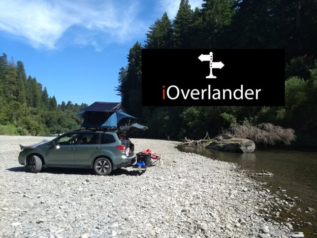 iOverlander - on the South Fork Eel River