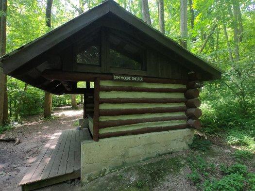 Sam Moore Shelter - AT - 06-27-2020