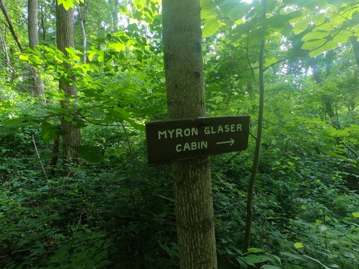 Myron Glaser Cabin Sign - 06-27-2020