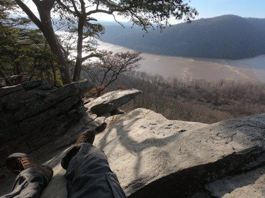 Potomac River from Weverton Cliffs - 12-27-2020