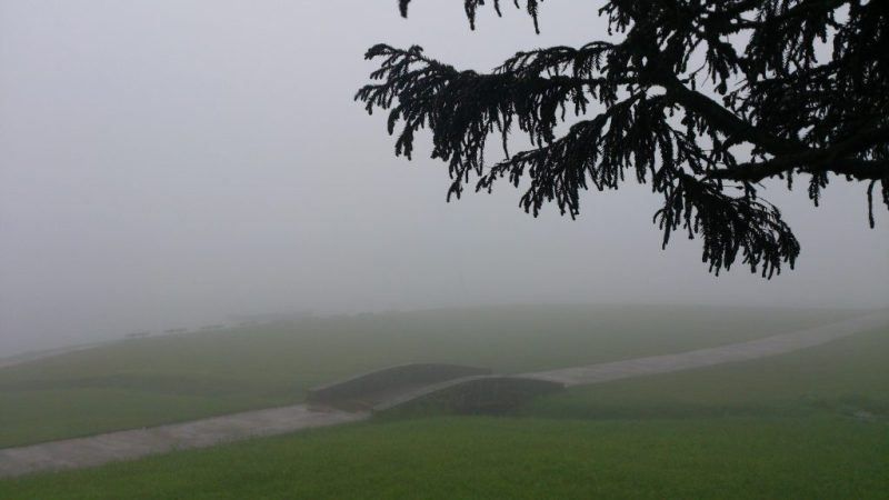 Gregory Lake Park covered in mist - One of Inevitable Places to Visit in Sri Lanka