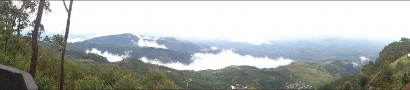 Panorama from Lipton's Seat