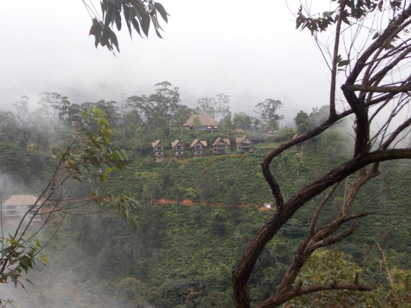View of 98 Acres Resort & Spa from the Little Adam's Peak