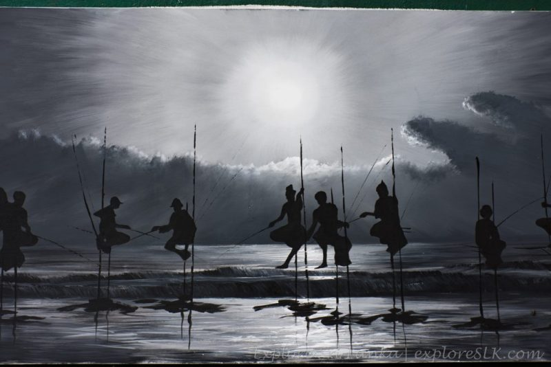 fishermen painting