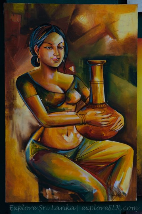 sri lankan paintings