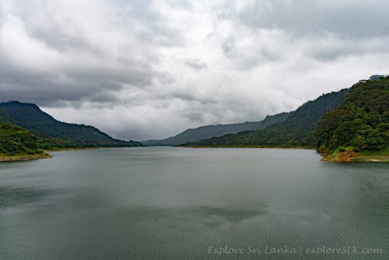 View from Kotmale Dam