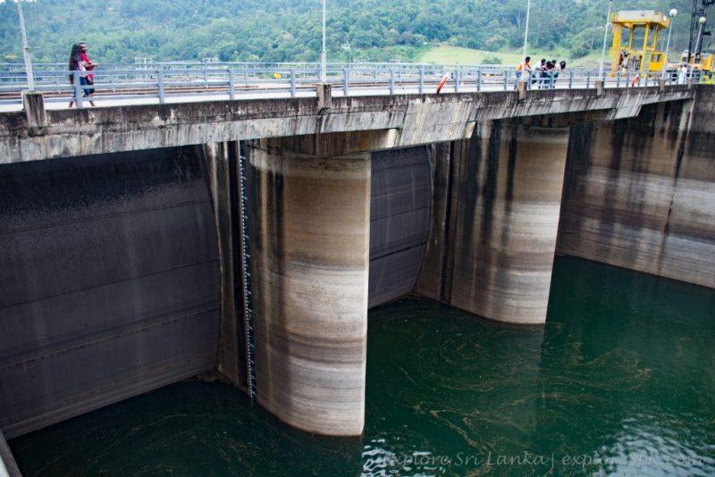 Spillway of Kotmale Dam