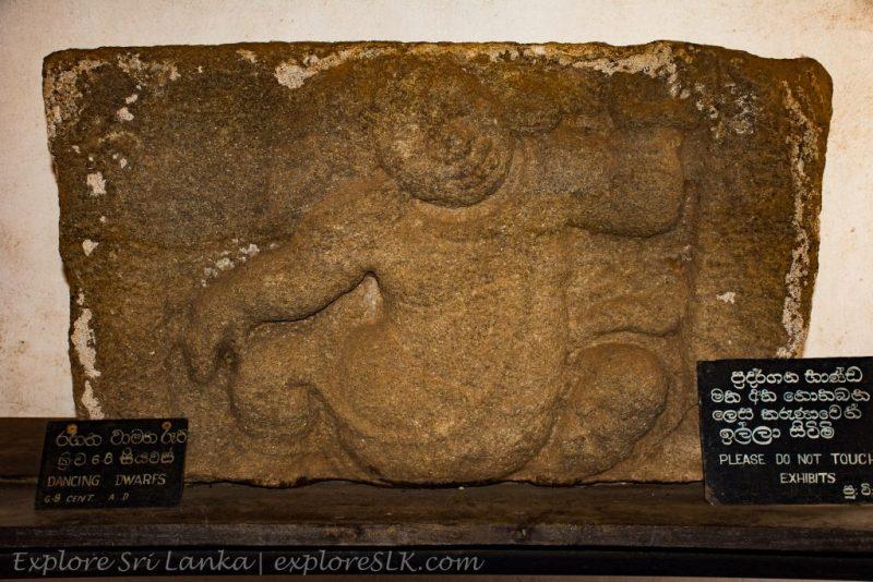 Dwarf Carving at Isurumuniya Temple