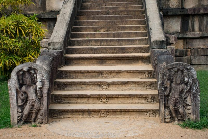 Stone Staircase and Guard Stones
