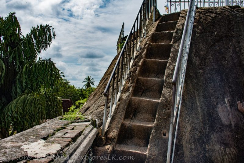 Stone Stairs to Stupa