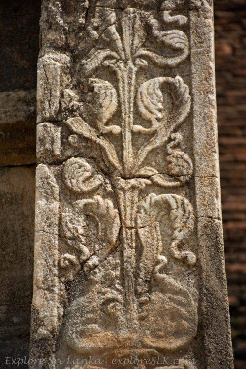 Stone Carvings at Abhayagiriya