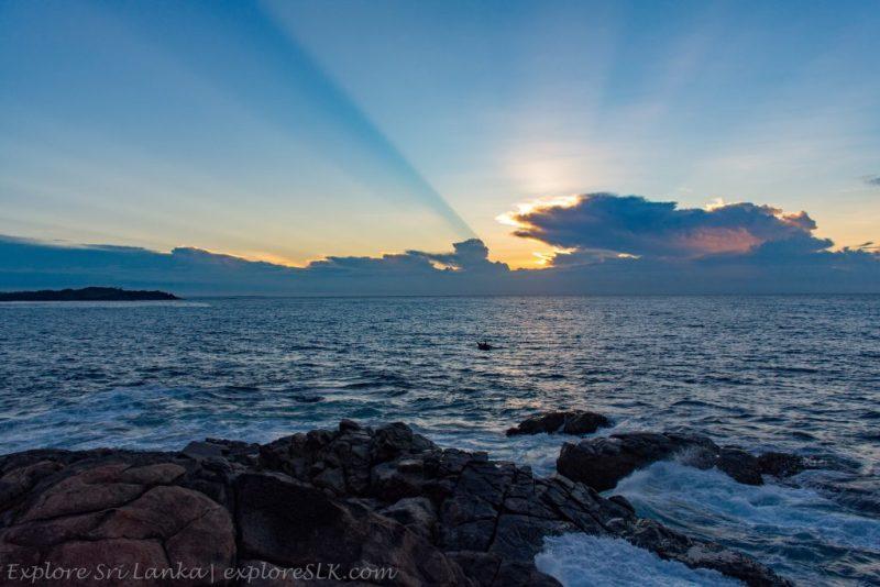 Sunrise from Blue Beach Island