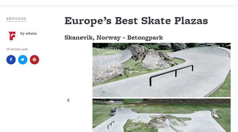 Skånevik Skatepark