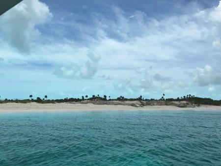 Approaching Iguana Island