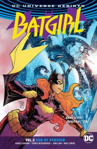 Batgirl: Son Of The Penguin Cover