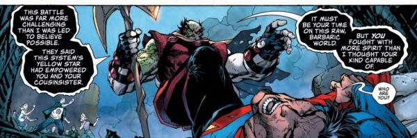 Superman Fights Rogol Zaar in Action Comics 1000