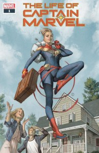 The Life Of Captain Marvel #1 Cover