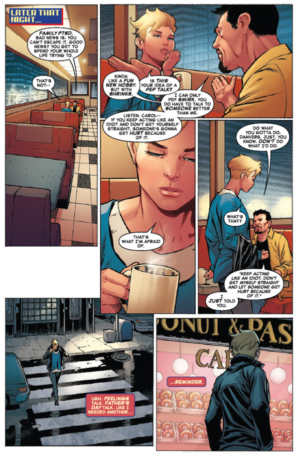 The Life Of Captain Marvel #1 Page 2
