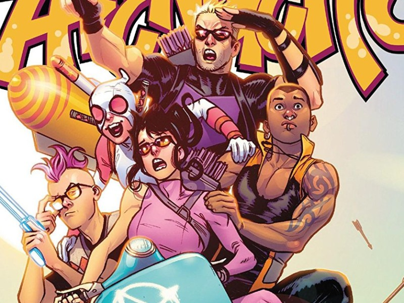 Comic Review – West Coast Avengers #1