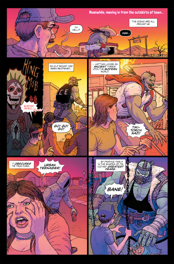 Border Town #1 Page 1