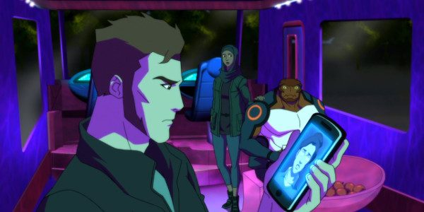 Young Justice - GeoForce Halo and Forager