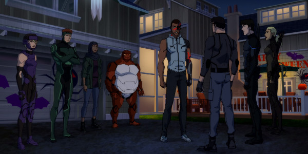 Young Justice Outsiders Post-Rescue-Mission