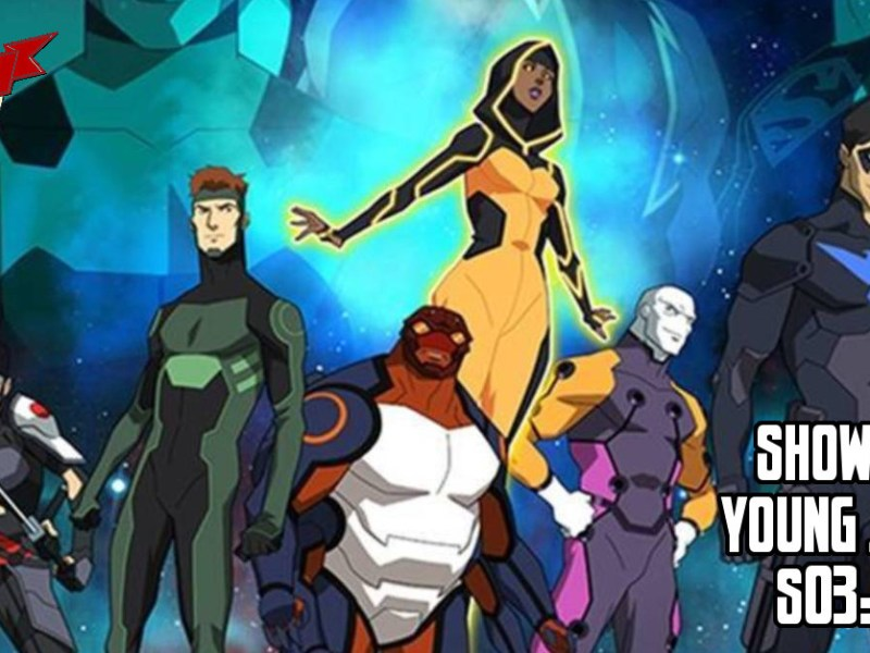 YOUNG JUSTICE EPISODE REVIEW S03:E01-03