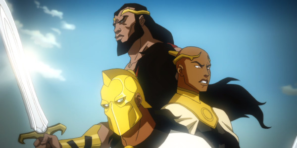 Young Justice Vandal Savage in Babylon