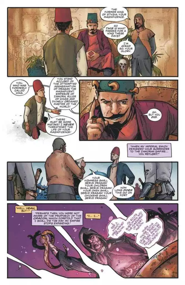 Red Sonja #1 Page 1
