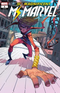 Magnificent Ms. Marvel #1 Cover