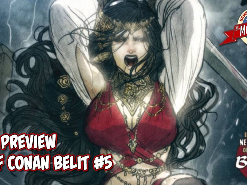 COMIC PREVIEW – AGE OF CONAN BELIT #5 (OF 5)