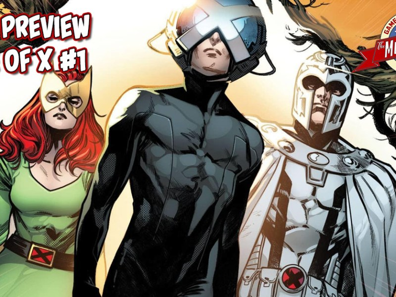 COMIC PREVIEW – HOUSE OF X #1