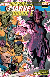 History of the Marvel Universe #1 Cover