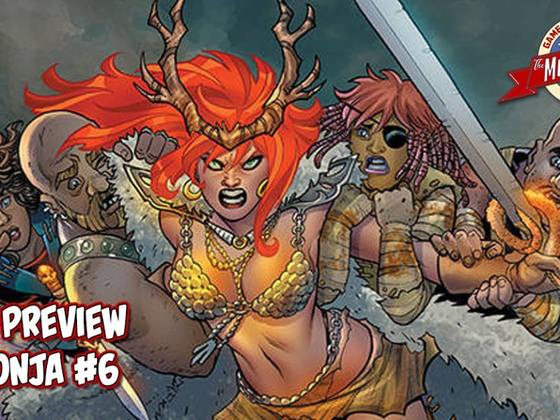 COMIC PREVIEW – RED SONJA #6