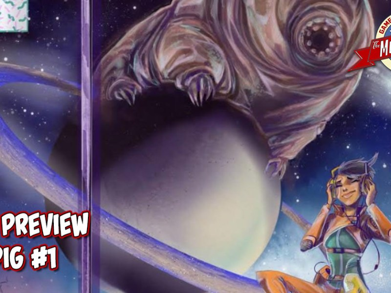 COMIC PREVIEW – STAR PIG #1