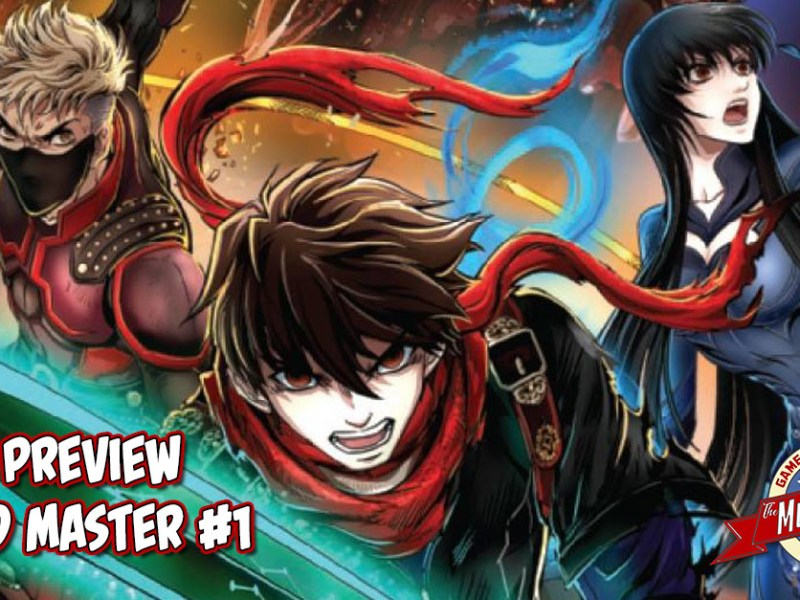 COMIC PREVIEW – SWORD MASTER #1