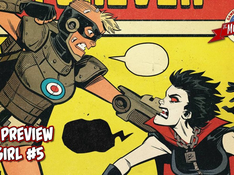 COMIC PREVIEW – TANK GIRL #5