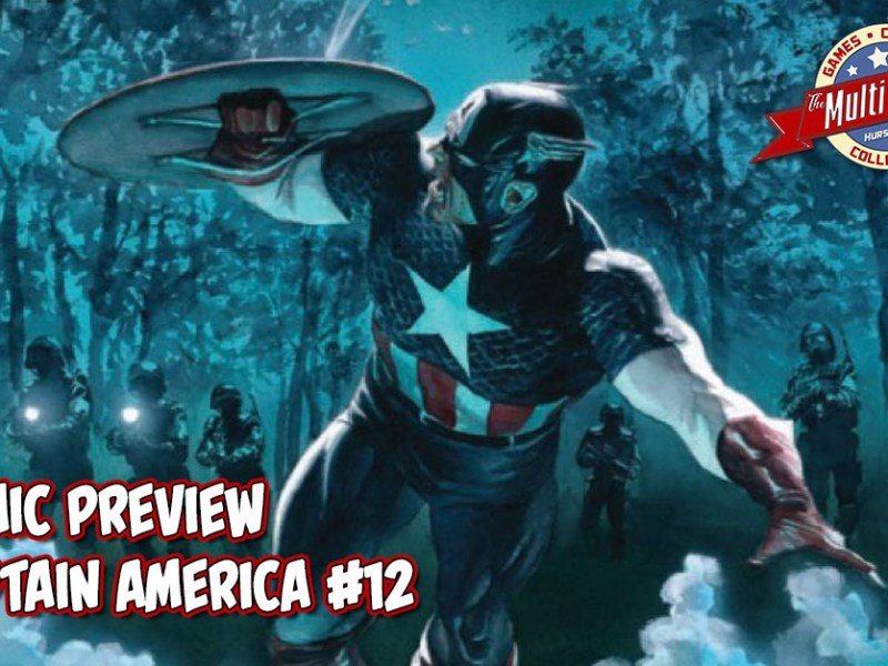 COMIC PREVIEW – CAPTAIN AMERICA #12