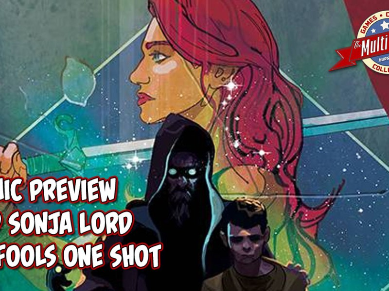 COMIC PREVIEW – RED SONJA LORD OF FOOLS ONE SHOT