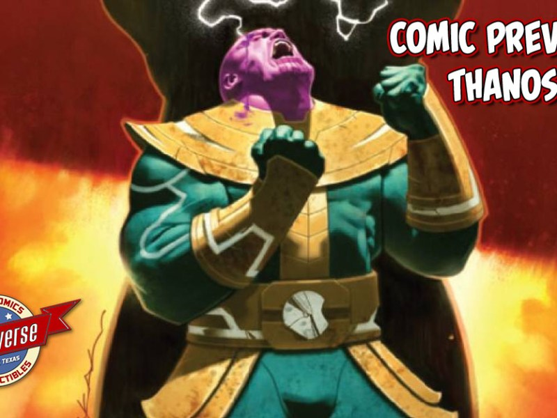 COMIC PREVIEW – THANOS #4