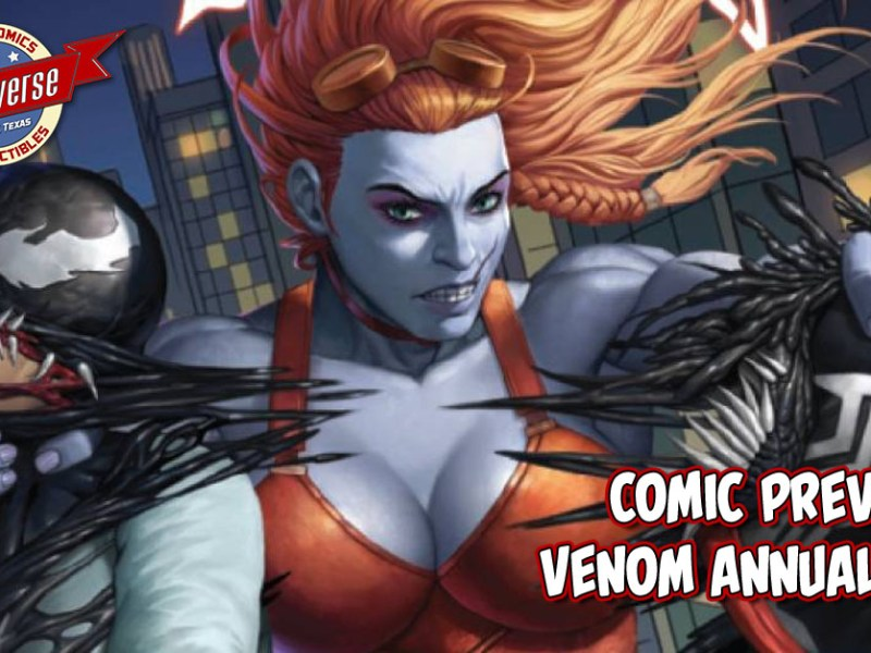 COMIC PREVIEW – VENOM ANNUAL #1