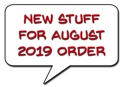 AUGUST 2019 ITEMS