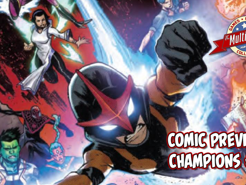 COMIC PREVIEW – CHAMPIONS #8