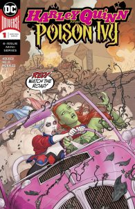 Harley Quinn & Poison Ivy #1 Cover