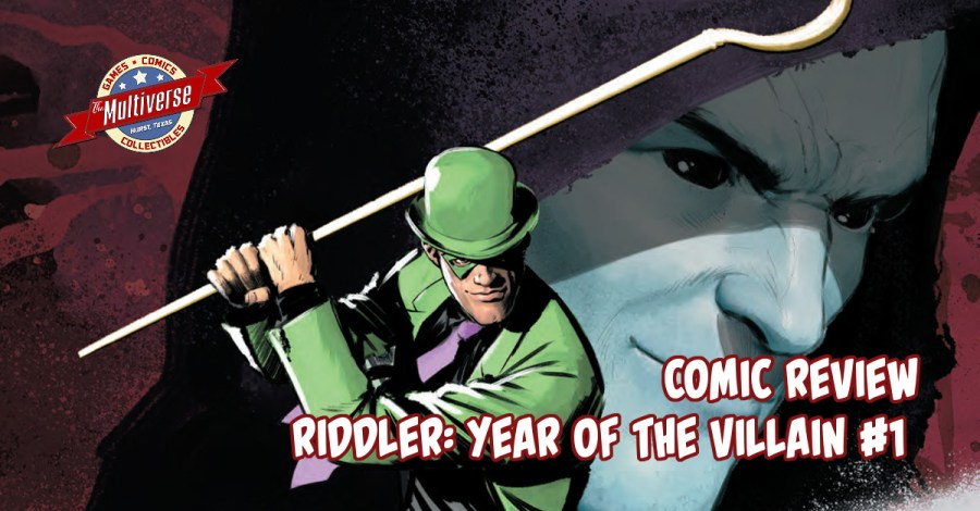 Riddler Year Of The Villain #1 Banner