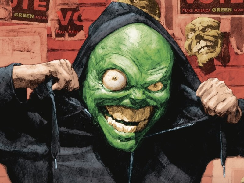 COMIC REVIEW – THE MASK: I PLEDGE ALLEGIANCE TO THE MASK #1