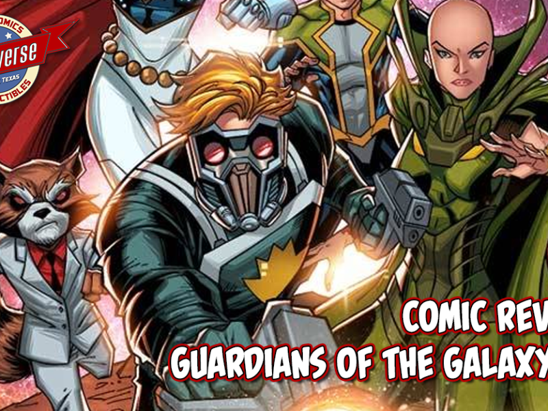 Comic Review – Guardians of the Galaxy #1
