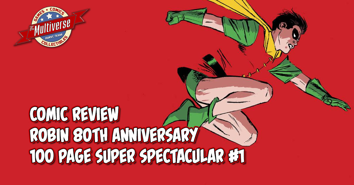Robin 80th Anniversary 100 Page Giant Super Spectacular #1 Banner