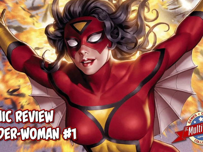 "Comic Review – ""SPIDER-WOMAN"" #1"